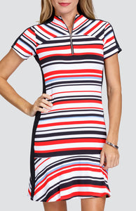 Katie Dress - Coast Stripe