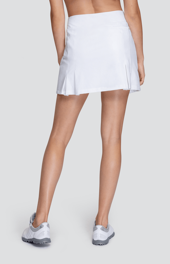 "Laura Skort - White - 16"" Outseam"
