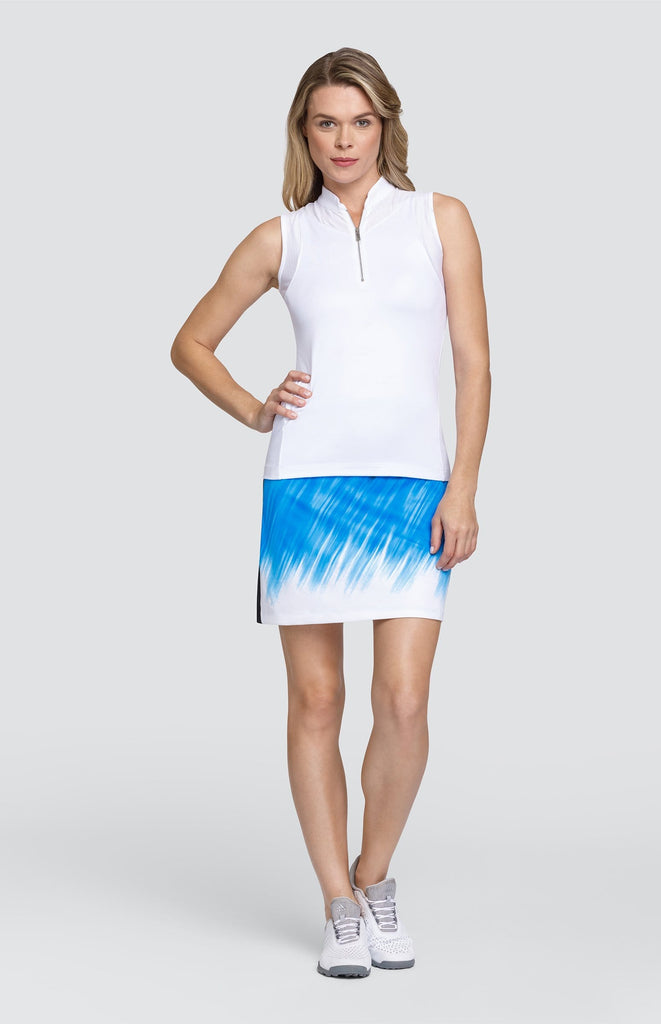 "Pythia Skort - Cool Waters - 18"" Outseam"