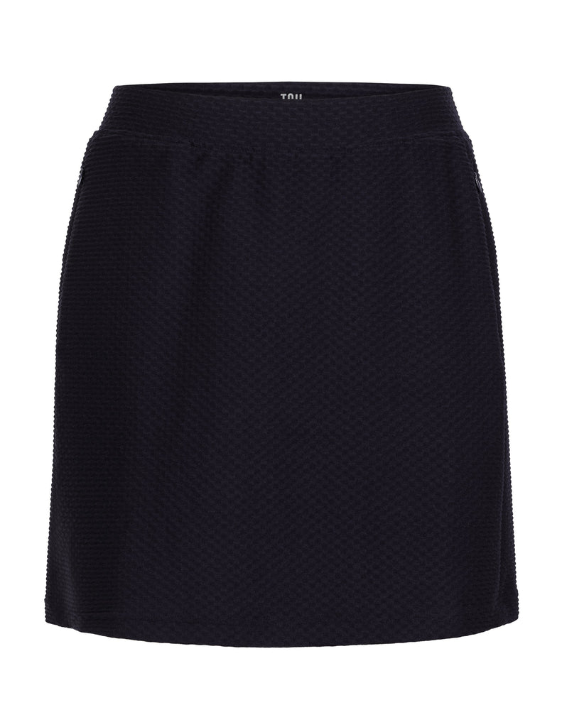 "Elevation Skort - Night Navy - 18"" Outseam"