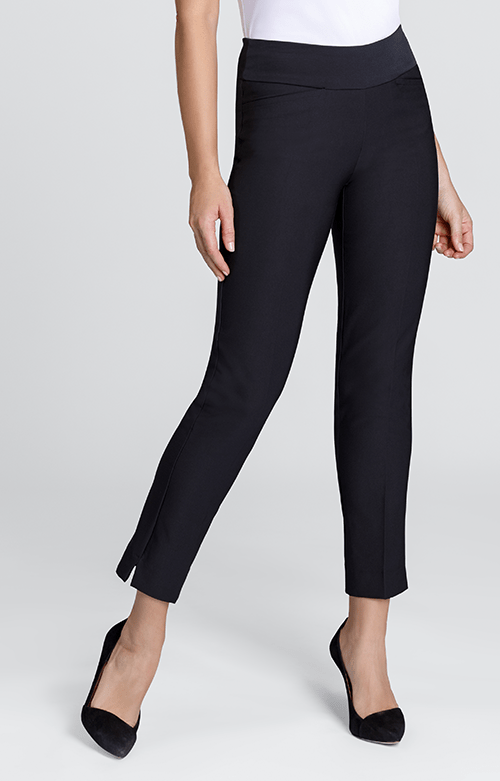 Mulligan Black Ankle Pant - Black