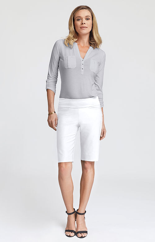 Mulligan White Short