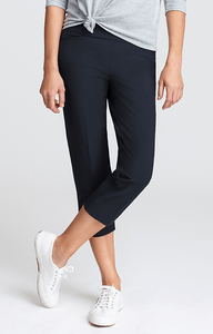 Mulligan Night Navy Capri