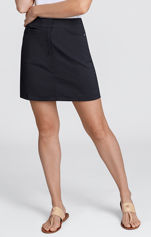 "Classic Skort - Black - 18"" Outseam"