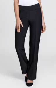 Mulligan Black Boot Cut Pant