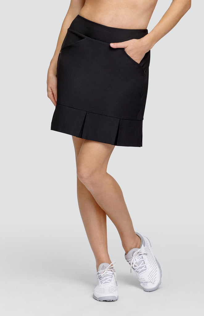 "Jocelyn Skort - Black - 19"" Outseam"
