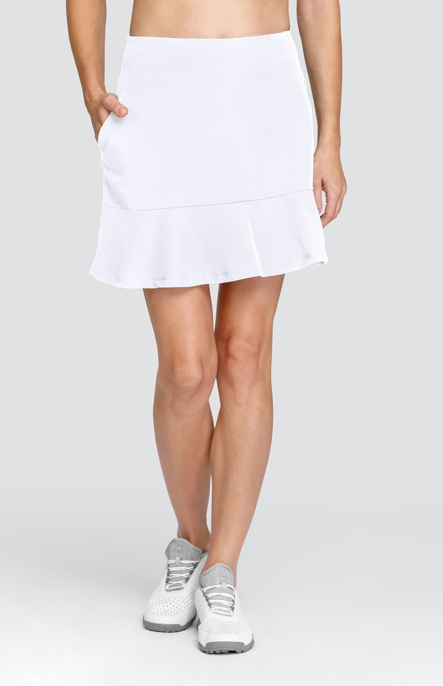 "Allure Skort - Chalk White - 17"" Outseam"