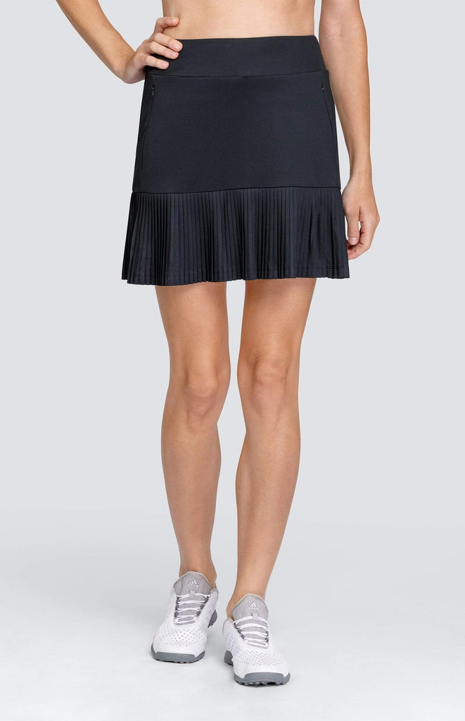 "Arabella Skort - Onyx Black - 17"" Outseam"