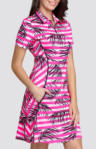 Flores Dress - Interlaced Palms