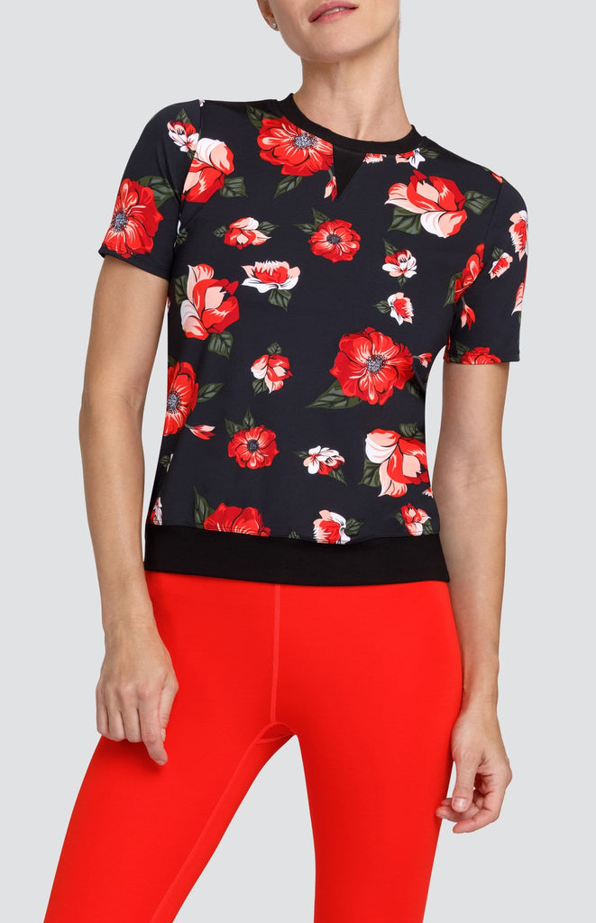 Florence Top - California Poppy