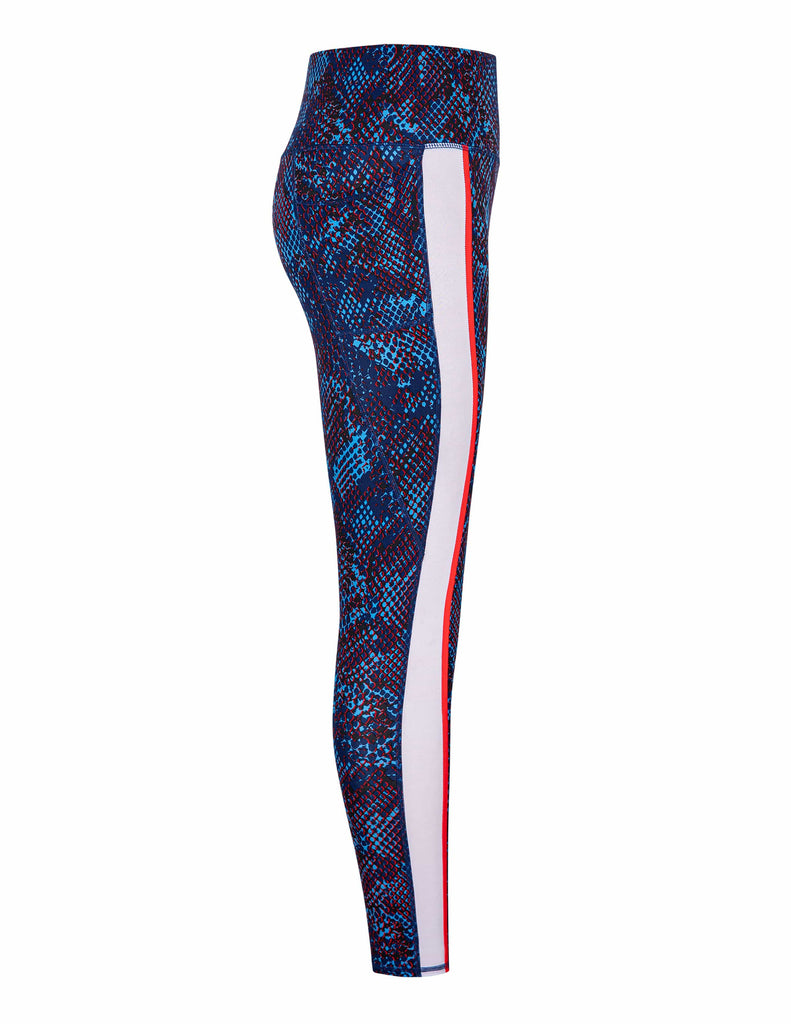 Amia Leggings - Boa Blue