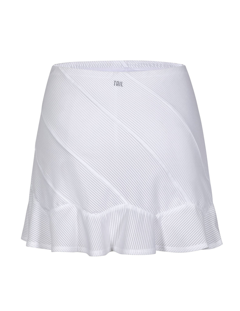 "Kailey Skort - White - 14.5"" Length"