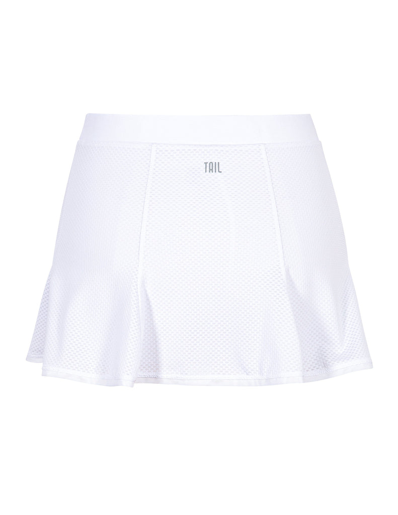"Kynlee Skort - Chalk White - 13.5"" Length - FINAL SALE"