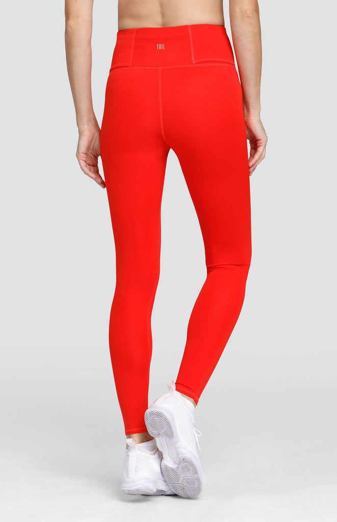 Luxor Leggings - Fiery Red