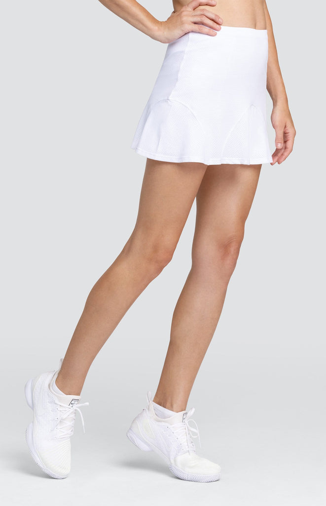 "Kimberley Skort - Chalk White - 13.5"" Length"