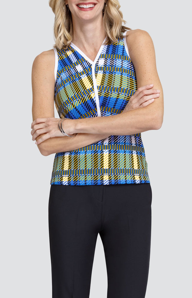 Blaire Tank - Uptown Plaid - FINAL SALE