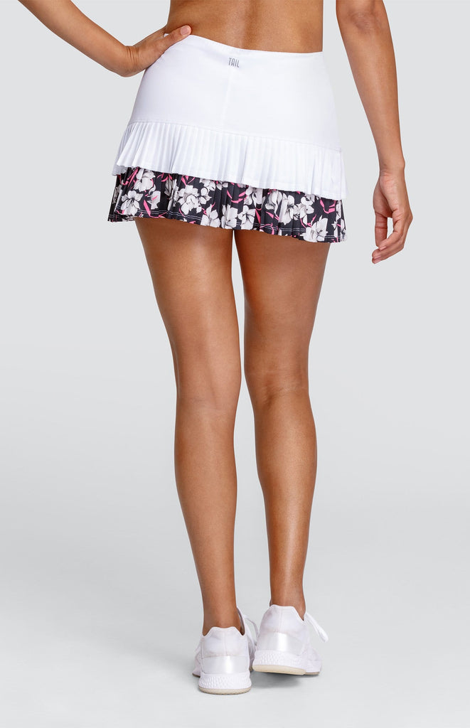 "Cleopatra Skort - Chalk White - 13.5"" Length"