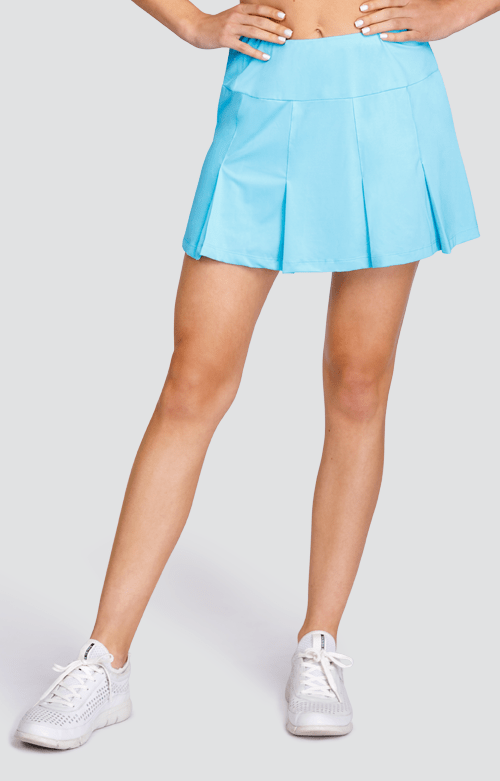 "Emeline Skort - Bluefish - 13.5"" Length"