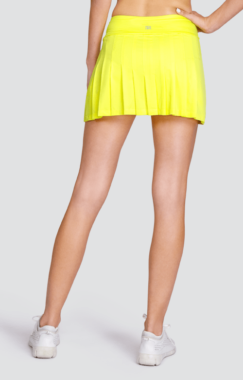 "Jillian Skort - Lemon Tonic - 13.5"" Length"