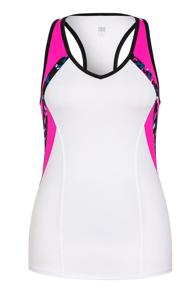 Itzel Tank - White - FINAL SALE