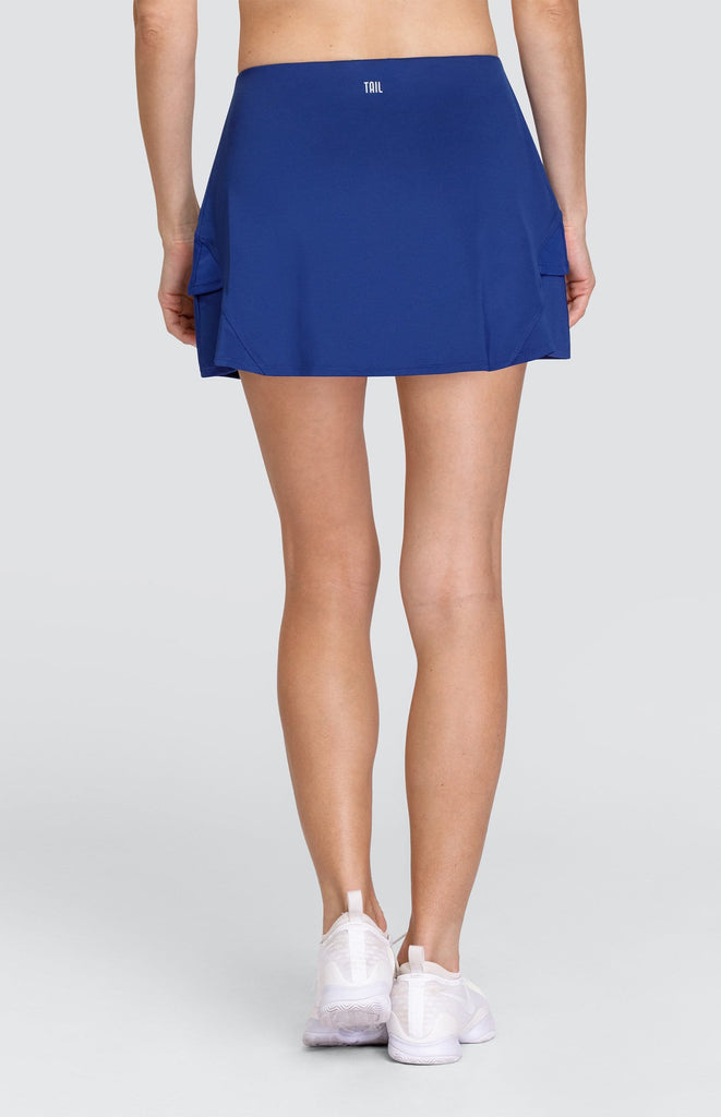 "Miranda Skort - Blue Depths - 13.5"" Length"
