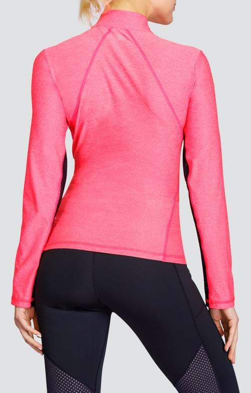 Chase Top - Lazer Pink