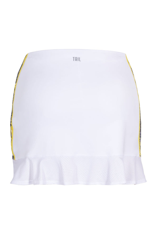 "Iris Skort - Chalk White - 14.5"" Length"