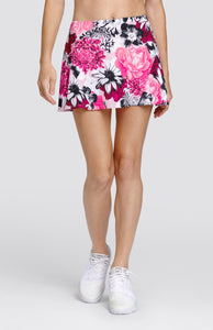 "Kyleigh Skort - Peonies - 13.5"" Length"