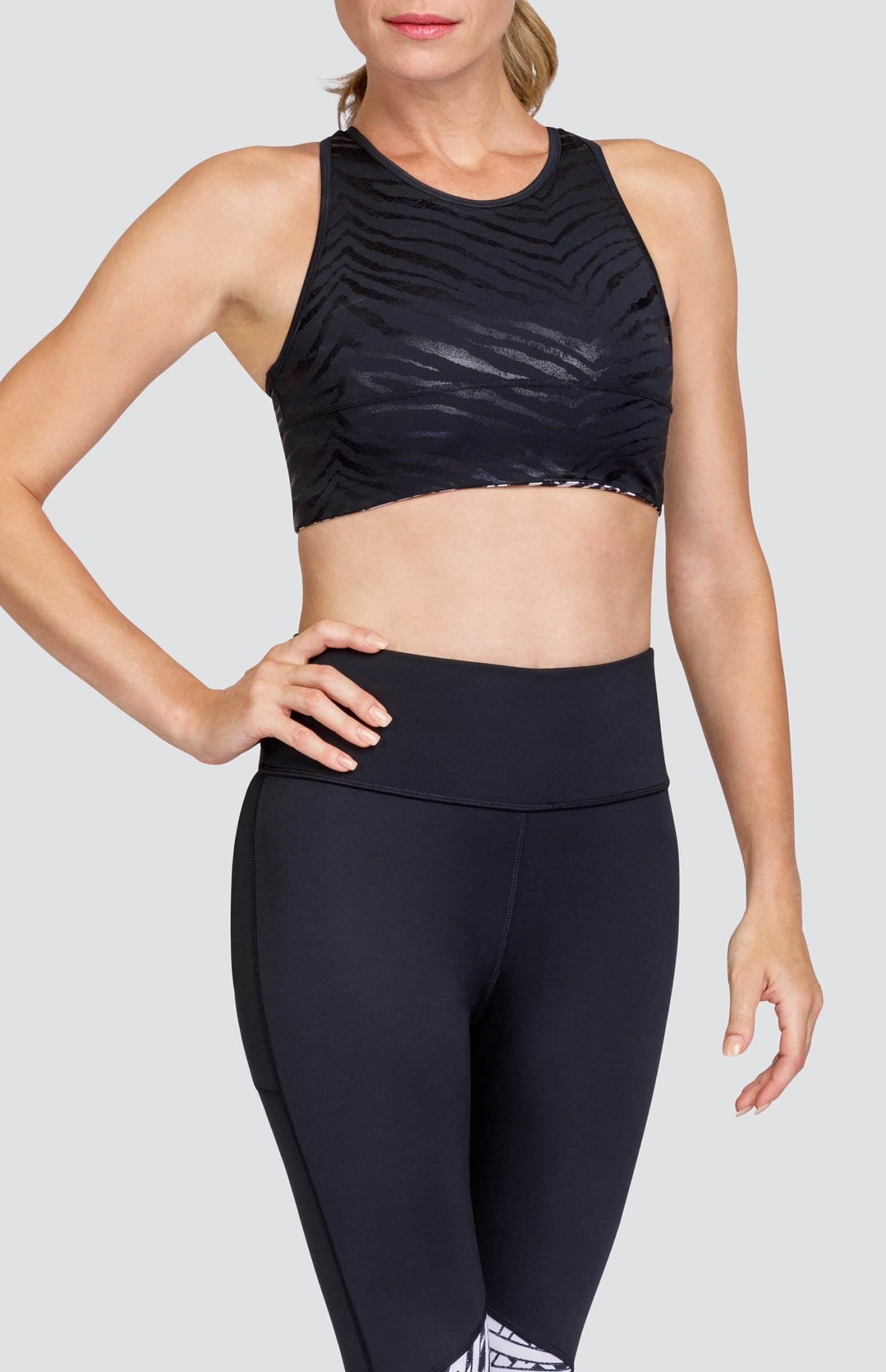 Aries Reversible Sports Bra - Zanzibar