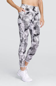 Ivory Leggings - Tropical Print Dark - FINAL SALE