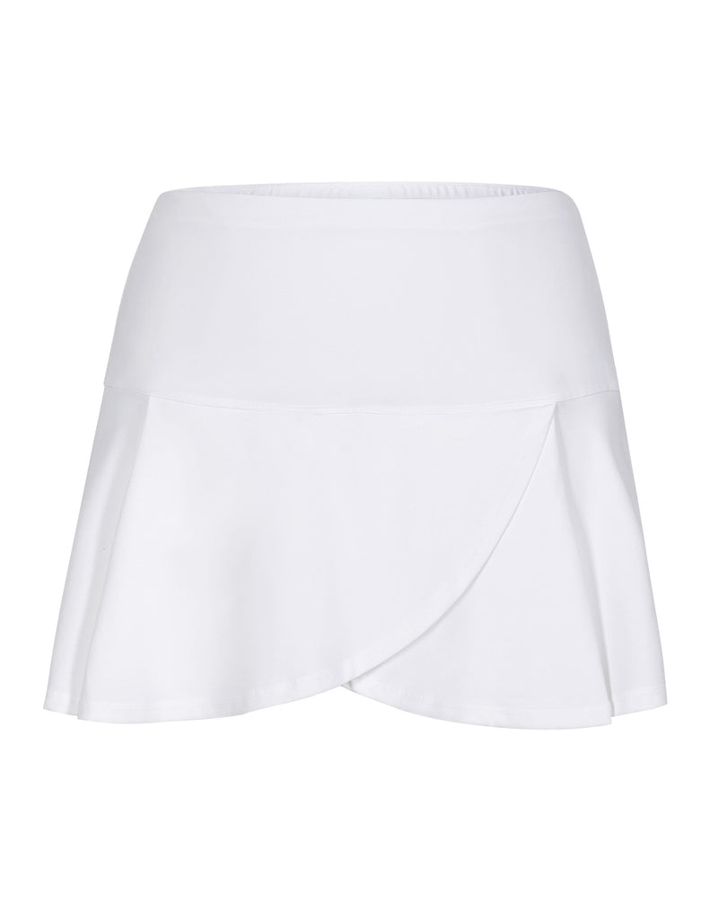 "Lilo Skort - White - 13.5"" Length"