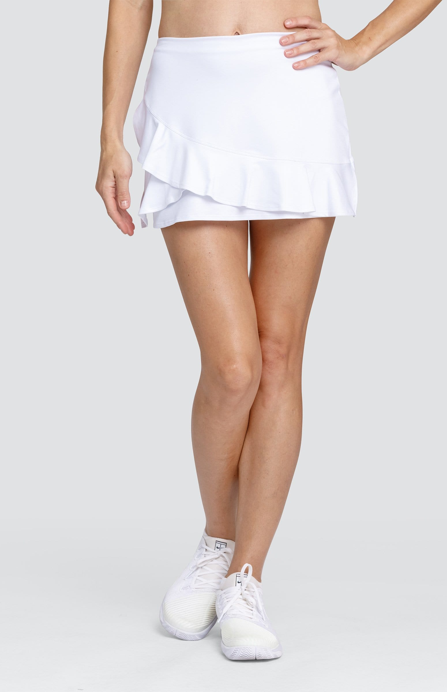 "Karlee Skort - Chalk White - 13.5"" Length"