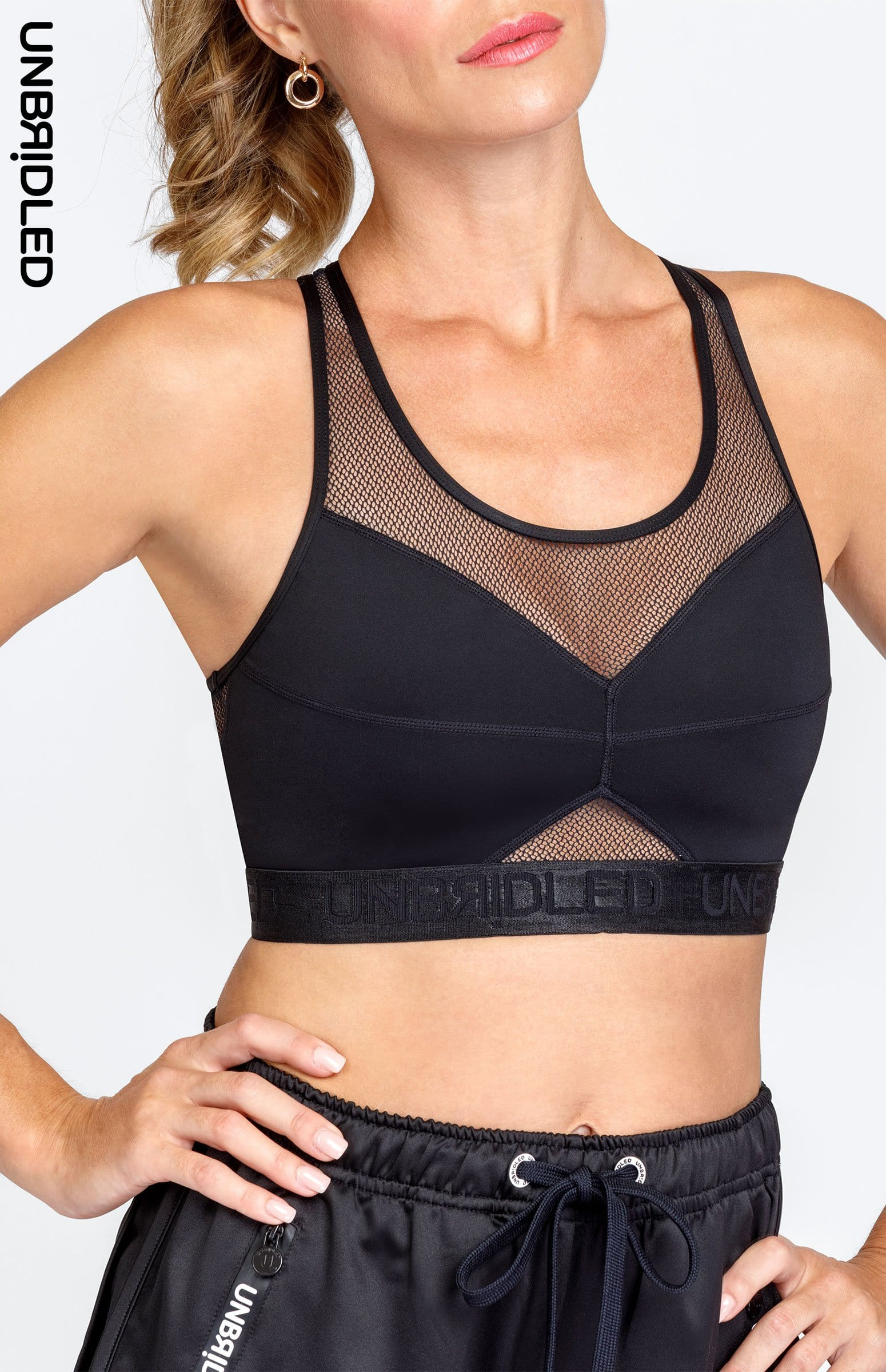 Christie Sports Bra - Noir
