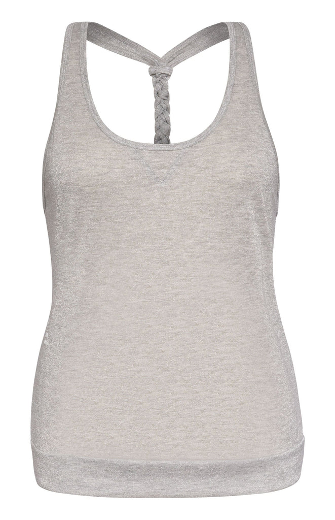 Blake Tank - Light Grey Lurex