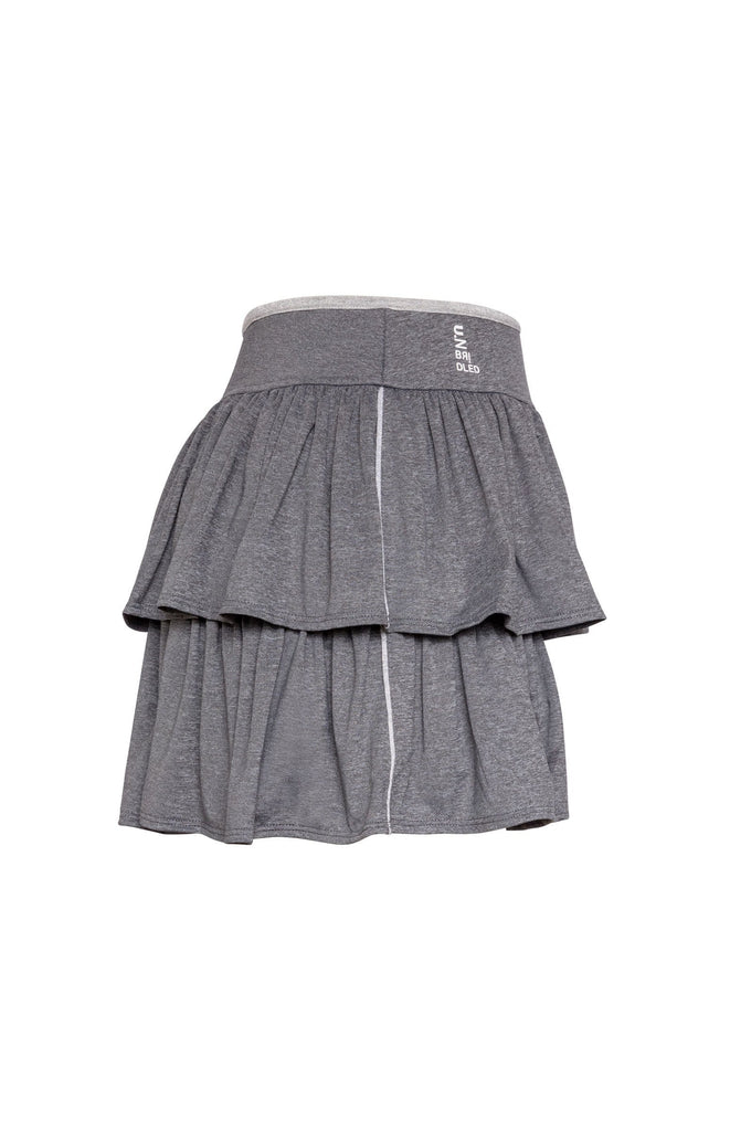 Stella Skort - Charcoal Heather