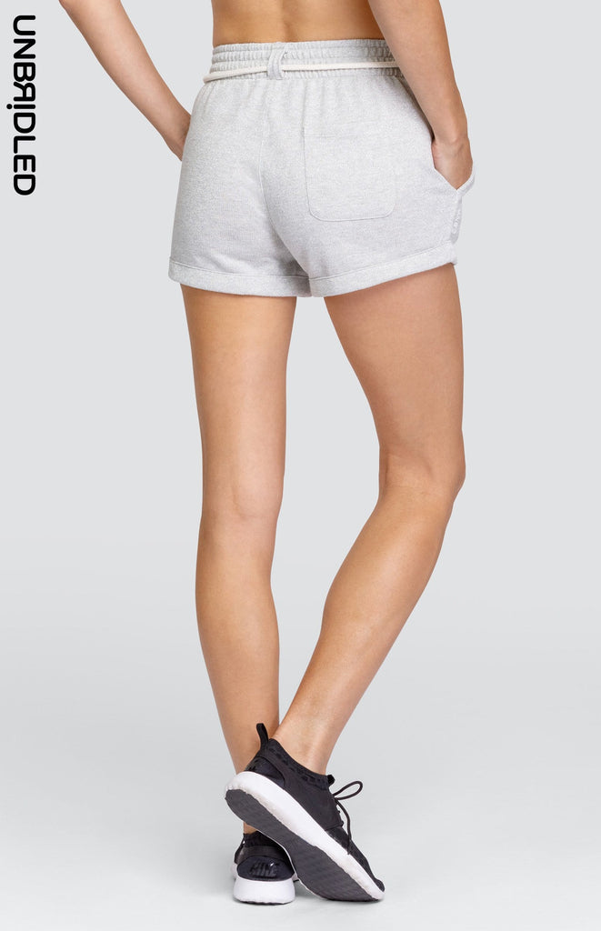 Lexi Short - Light Grey Lurex