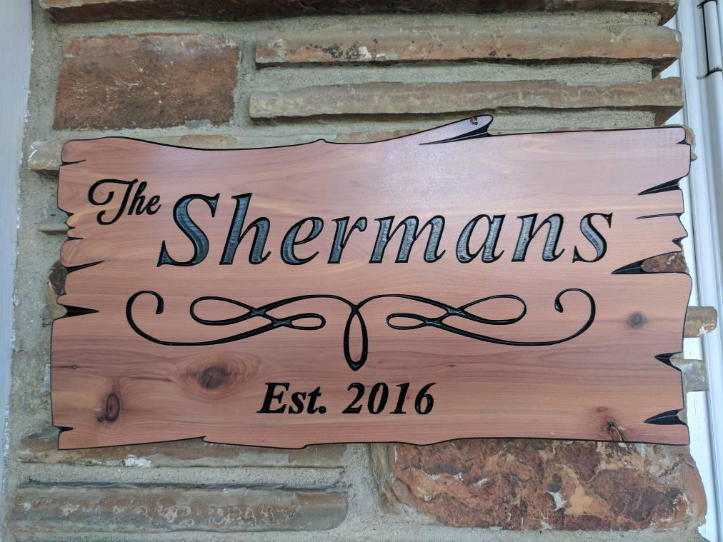 Outdoor Wood Signs Custom Wood Signs Personal Wood Sign Customiz