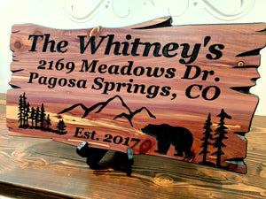 Wood Signs Custom Wood Signs Outdoor Wood Sign Engraved Wood Sig