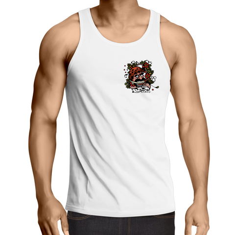 The Greasy Pirate - Mens Singlet