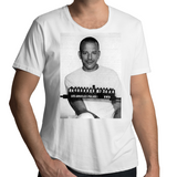 Mickey Rourke Classic Mugshot - Mens Scoop Neck T-Shirt