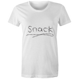 Women's Barbed Wire Snack Crew T-Shirt