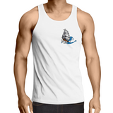 My lady is the Sea - Mens Singlet