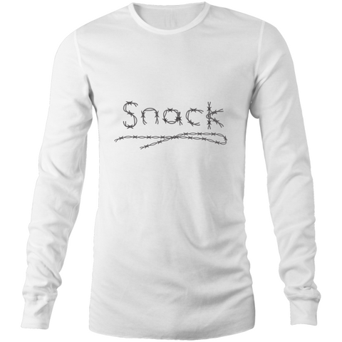 MEN'S BARBED WIRE SNACK Long Sleeve T-Shirt