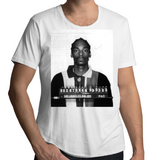 Snoop Dogg Classic Mugshot - Mens Scoop Neck T-Shirt