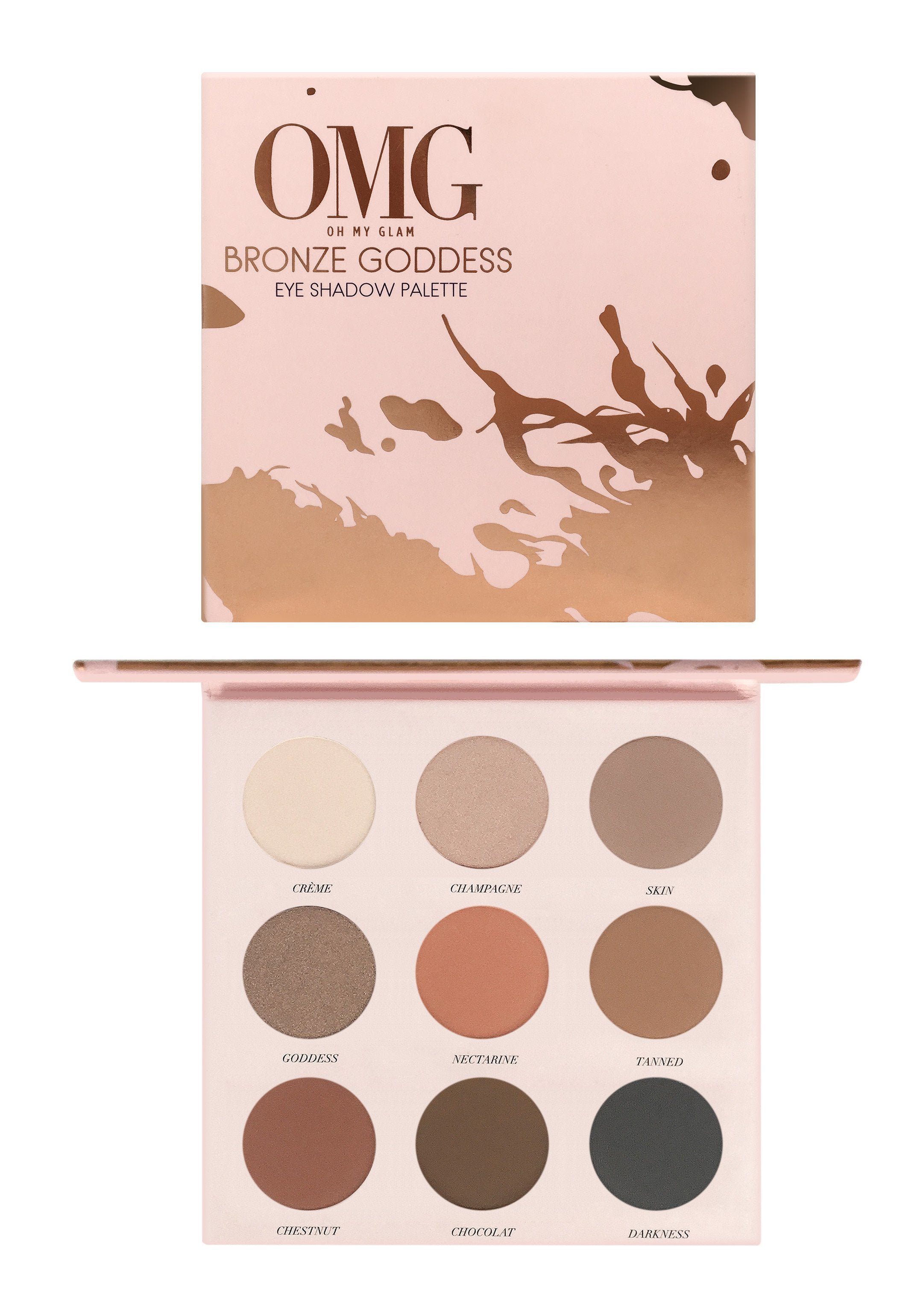 OMG Bronze Goddess Eyeshadow Palette