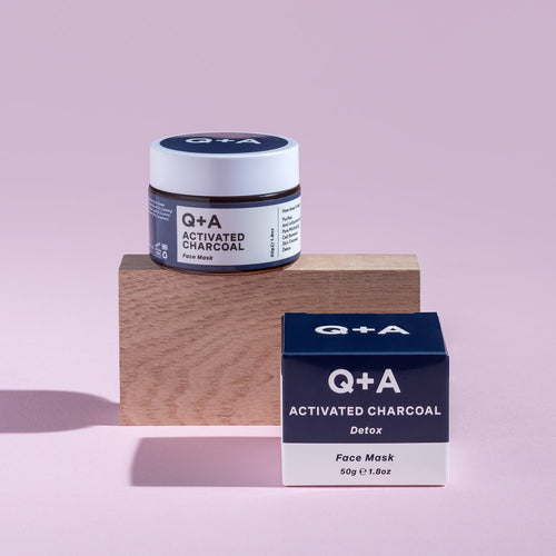Q&A Activated Charcoal Face Mask