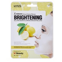 Kiss NY - Cotton Face Mask - Brightening Lemon