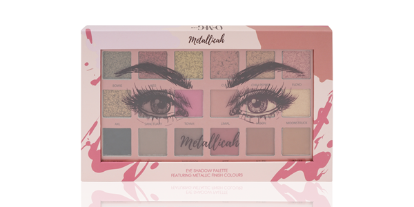 OMG Metallicah Eye Shadow Palette