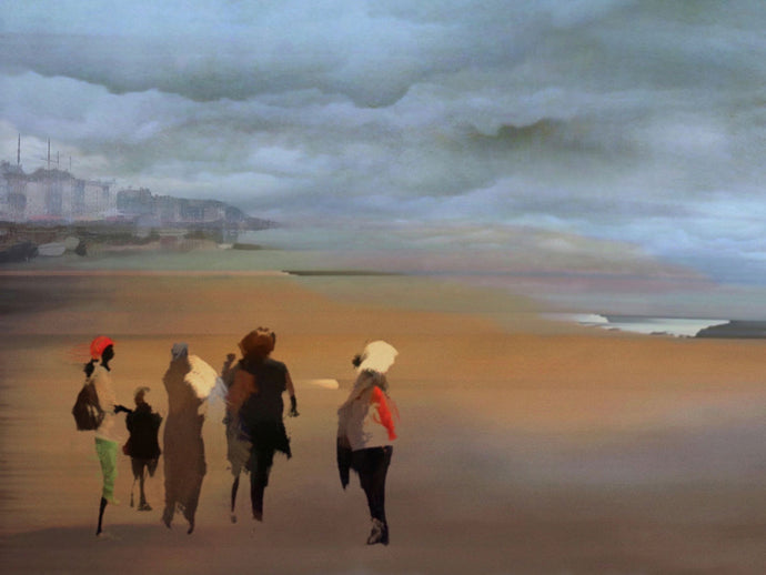 Peter Wilkin, 2019 'On The Beach'