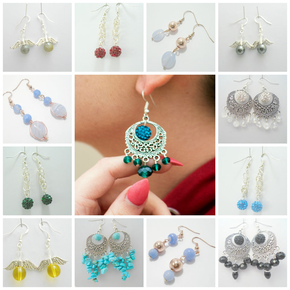 One of a Kind -Earring Collection